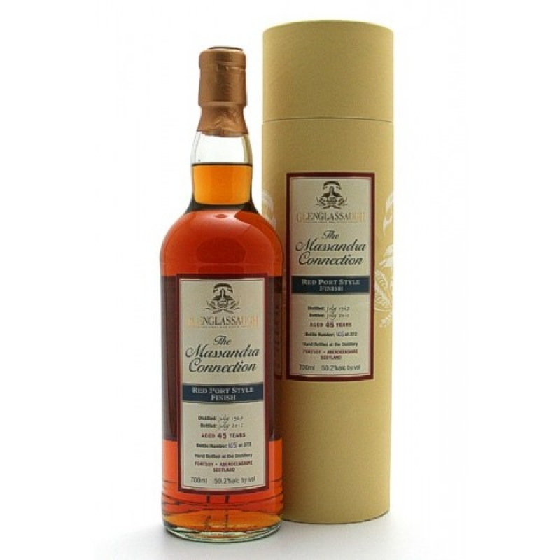 Glenglassaugh 45 Jahre - Red Port Style Finish - The Massandra Connection - Highland Single Malt Scotch Whisky - Brühler Whiskyhaus - Brühl