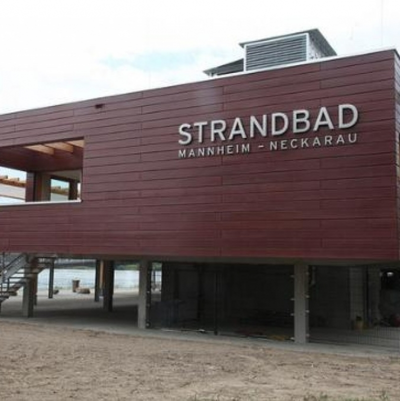 Strandbad - Strandbad Mannheim Neckarau - Mannheim