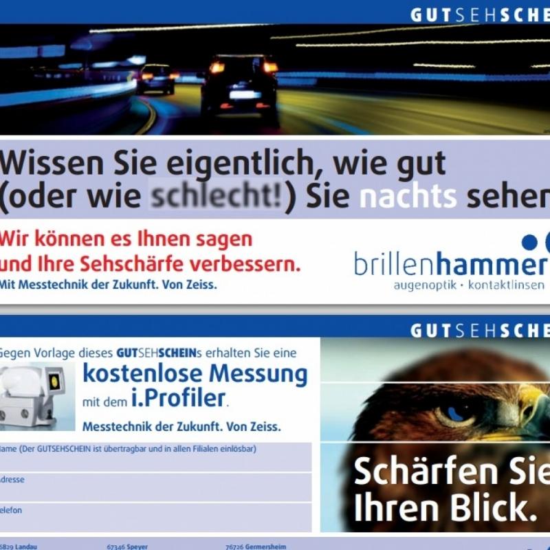 Gutschein - Brillenhammer - Speyer