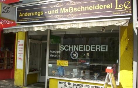 schneiderei reinigung le berlin steglitz zehlendorf handwerk. Black Bedroom Furniture Sets. Home Design Ideas