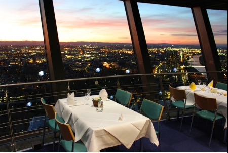 Photo von Dreh-Restaurant SKYLINE in Mannheim
