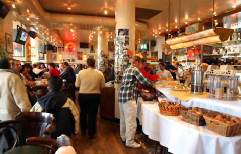 Foto 2 von Cafe Extrablatt in Frankfurt