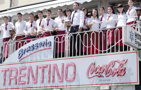 Foto 1 von Hotel Ratskeller Eiscafe Trentino in Saarlouis