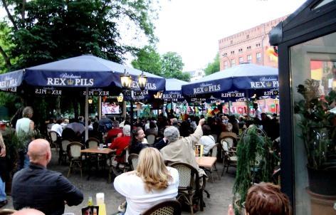 Alter Stadtwachter Restaurant Biergarten Potsdam Biergarten