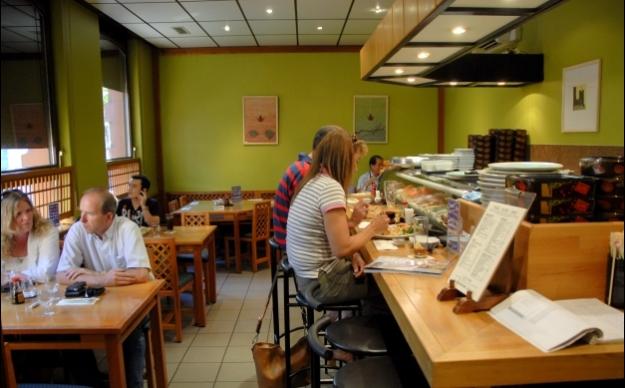 japanese restaurant kicho stuttgart mitte gastst tte wirtshaus spezialit ten sushi. Black Bedroom Furniture Sets. Home Design Ideas