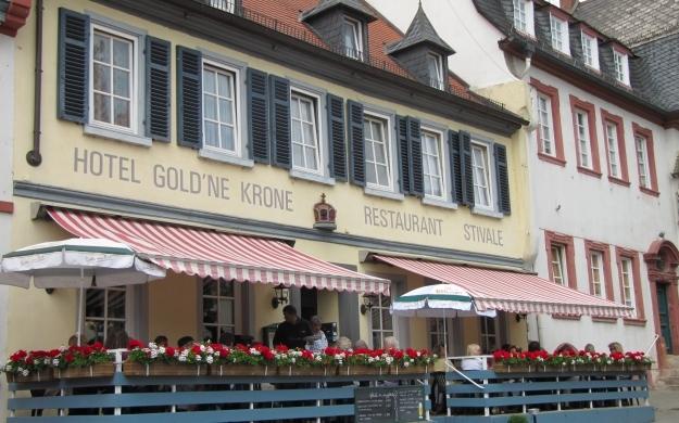 Foto 1 von Hotel Gold'ne Krone Ristorante Stivale in Oppenheim
