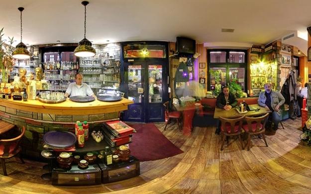 taverna dimokritos berlin friedrichshain kreuzberg caf s bistros banken sparkassen. Black Bedroom Furniture Sets. Home Design Ideas