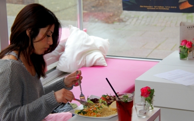 velo vegetarisches restaurant heilbronn mittagstisch. Black Bedroom Furniture Sets. Home Design Ideas