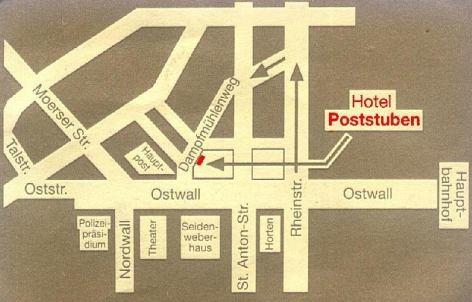 Thumbnail für Zentral Hotel Poststuben