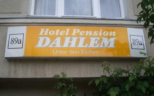 Hotel Pension Dahlem Unter Den Eichen A Steglitz  Berlin