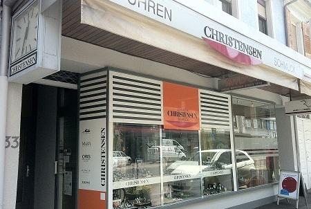 Christensen Uhren Schmuck Karlsruhe Innenstadt Uhren