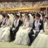 Fast 4000 Paare ließen sich bei der Massenhochzeit trauen.