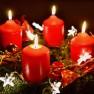 Ein festlicher Adventskranz für die Vorweihnachtszeit