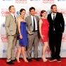 "Die Darsteller der Sitcom ""How I Met Your Mother"" bei der Verleihung des ""People's Choice Award"" im Januar 2012"