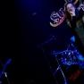 """""""Sud Strings""""-Sängerin Claudia bei einem Auftritt"""