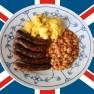 Ein deftiges englisches Frühstück füllt den Magen ungemein.