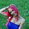 https://pixabay.com/en/girl-pink-hair-confetti-smile-856906/