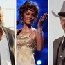 Fotos von Clarke Duncan und Whitney Houston: Kevin Winter/GettyImages; Foto Larry Hagman: Hulton Archive/Getty Images